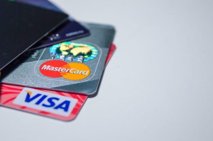 Mastercard och Visa kortet